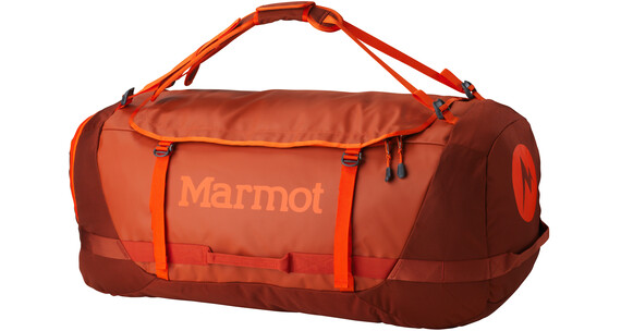 Marmot Long Hauler Duffle Bag X-Large Rusted Orange/Mahogany